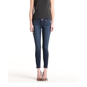 Paige skinny jeans in Nottingham wash size 31